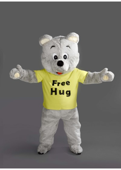 Cheery Teddy Bear Mascot costume