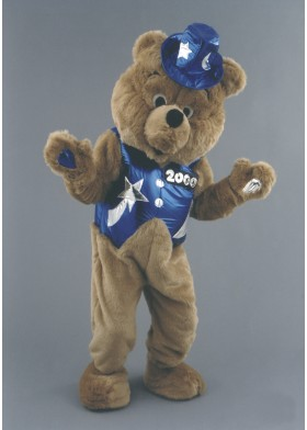 Showbiz Bear Mascot Costume