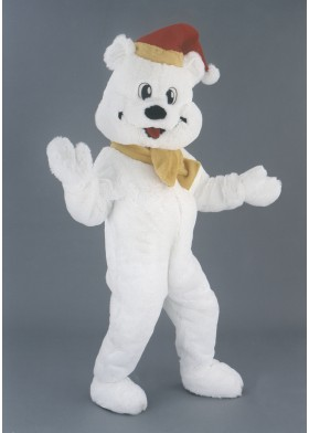 Snow Bear Polar Bear Mascot Costume
