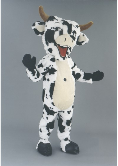 Laughing Cow Cow Mascot Costume