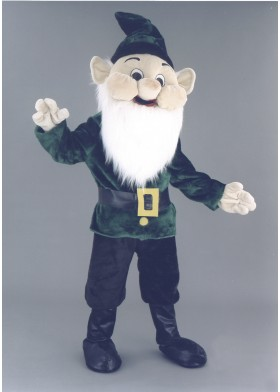 Happy Elf  Mascot Costume