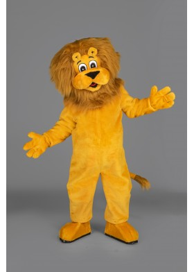 Leo the Lion Mascot Costume
