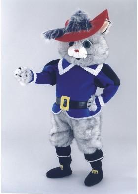 Smart Cat Mascot Costume