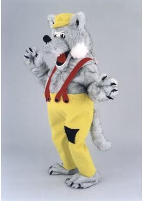 Storytime Wolf Mascot Costume