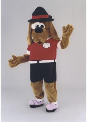 Scout Hound dog Mascot Costume