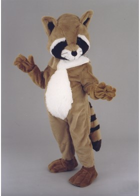 Raccoon Mascot Costume Suit