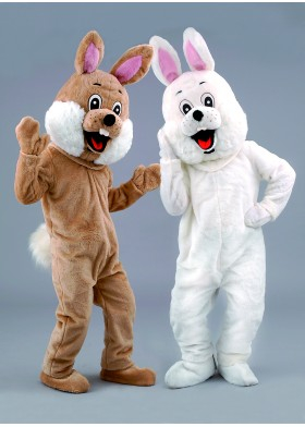 Rabbit Mascot Costume - Easter Bunny