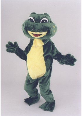 Frankie the Frog Mascot Costume
