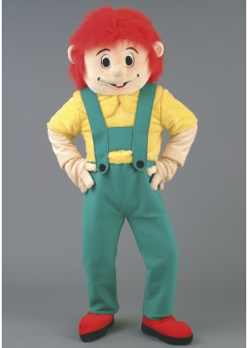 Farmer Boy Mascot Costume