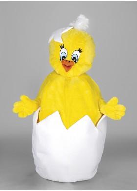 Chick(in) Egg Mascot Costume
