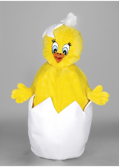 Chick(in) Egg Mascot Costume