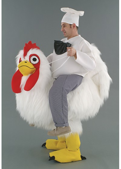 Chicken & Chef Ride on illusion