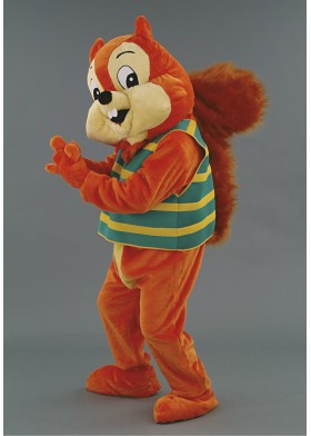 Squirrel Mascot Costume - Chipper