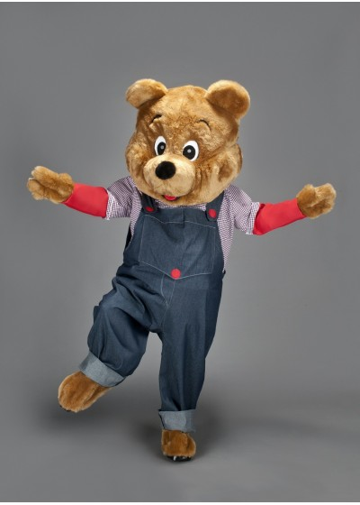 Playtime Bear Mascot Costume