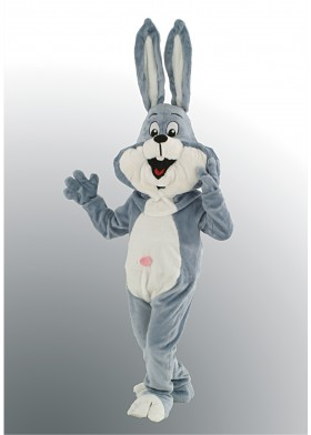 Cartoon Bunny Mascot Costume