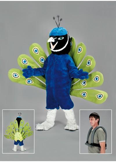 Peacock bird Mascot Costume