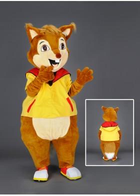 Ash the Squirrel  Mascot Costume