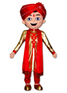 Custom Made Indian Wedding Mascot Costume