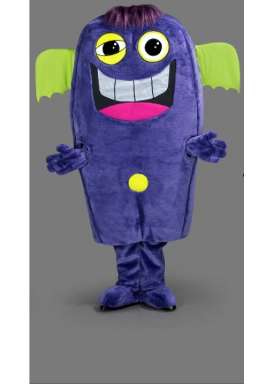 Purple Monster Mascot Costume