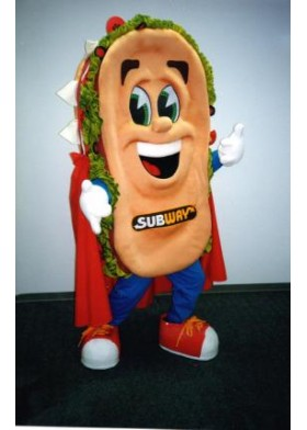Custom Made Subway Character Costume