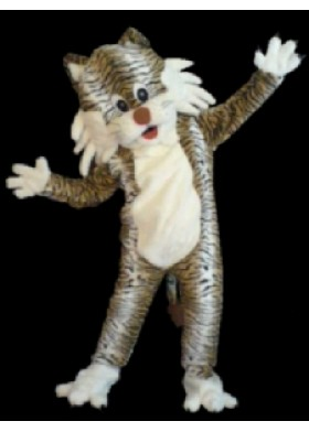 Crazy Tiger Mascot Costume