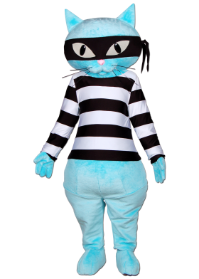 Custom Made Cat Mascot Costume
