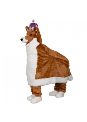 Custom Made Queens Dog Mascot Costume