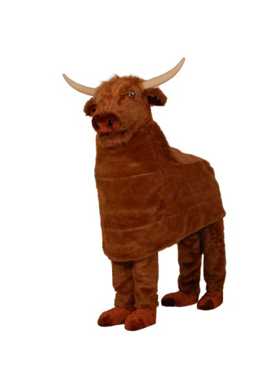 Custom Made Cow Mascot Costume