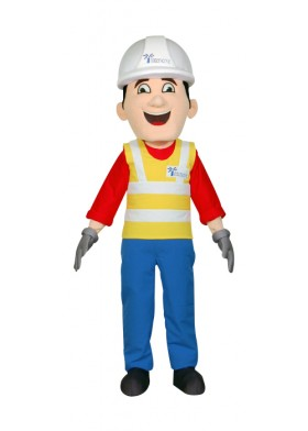 Custom Made Builder Mascot Costume