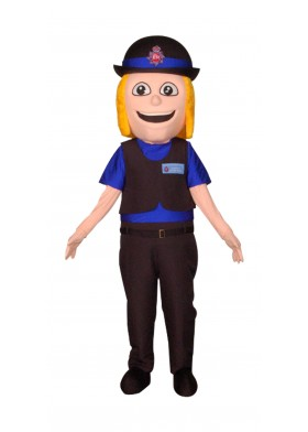 Custom Made Police Mascot Costume