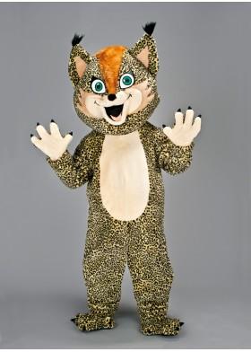 Lynx mascot costume