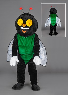 Happy Fly Mascot Costume