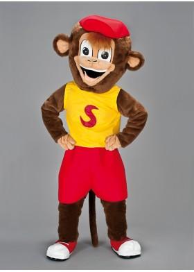 Sporty Monkey Mascot Costume