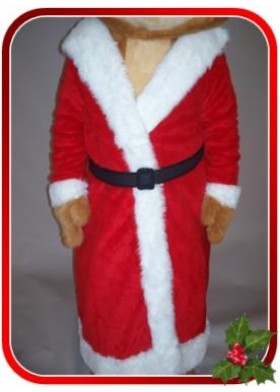 Santa Coat for mascot costumes