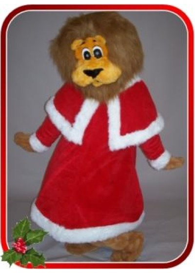 Santa Dress for mascot costumes